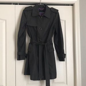 Banana Republic grey trench coat